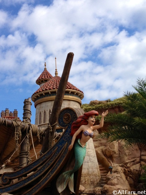 Journey Of The Little Mermaid Under The Sea Photo