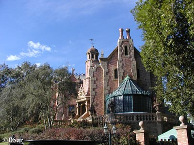 Haunted Mansion Exterior