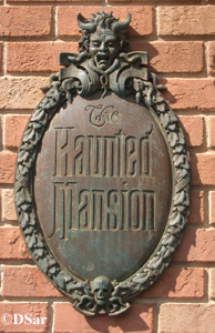 Haunted Mansion Sign