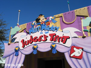 Mickey's Judge's Tent