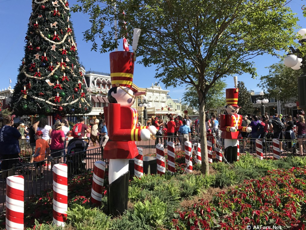 holiday decorations in the magic kingdom 2017 photo gallery - Magic Kingdom Christmas Decorations 2017