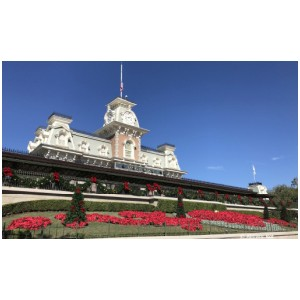 Holiday Decorations in the Magic Kingdom