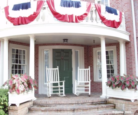 Hall of Presidents Rocking Chairs