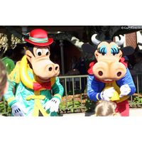 Horace and Clarabell