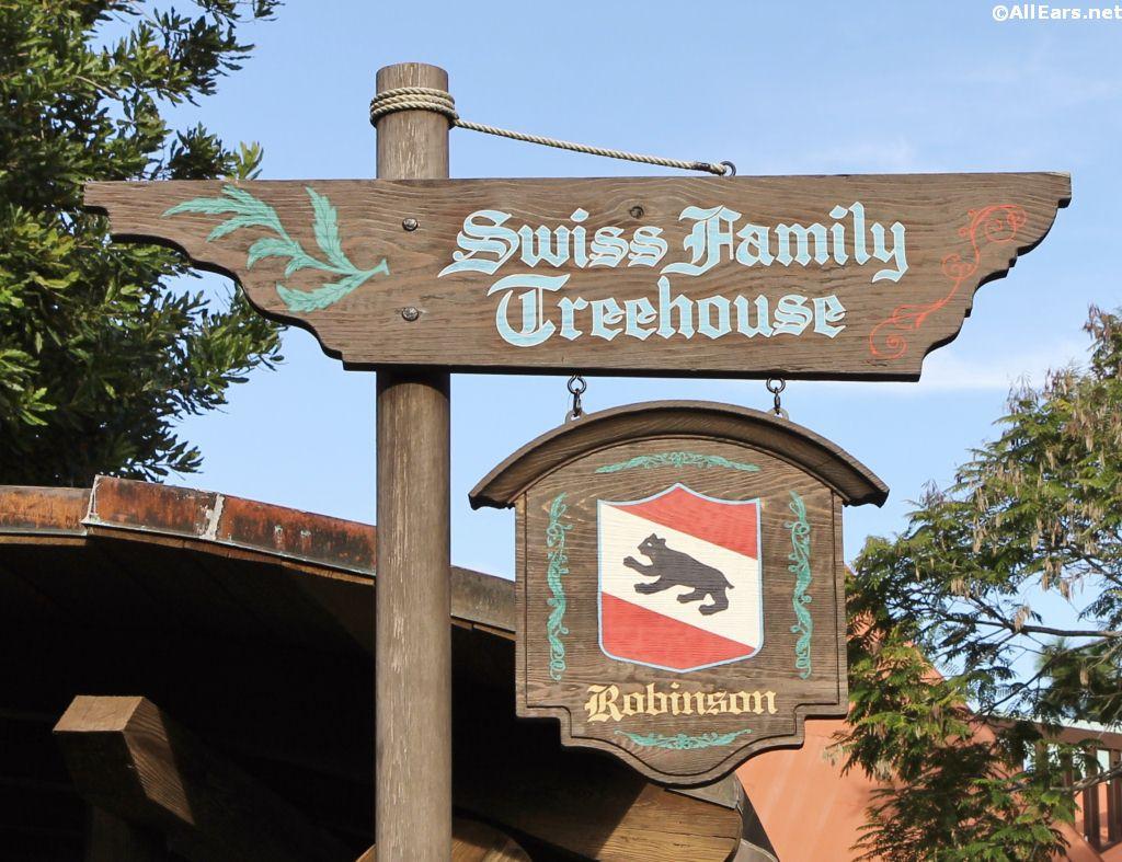 Swiss Family Treehouse Adventureland Magic Kingdom