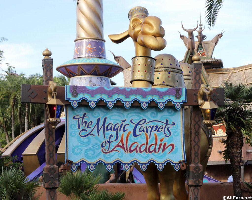 Magic Carpets Of Aladdin Magic Kingdom