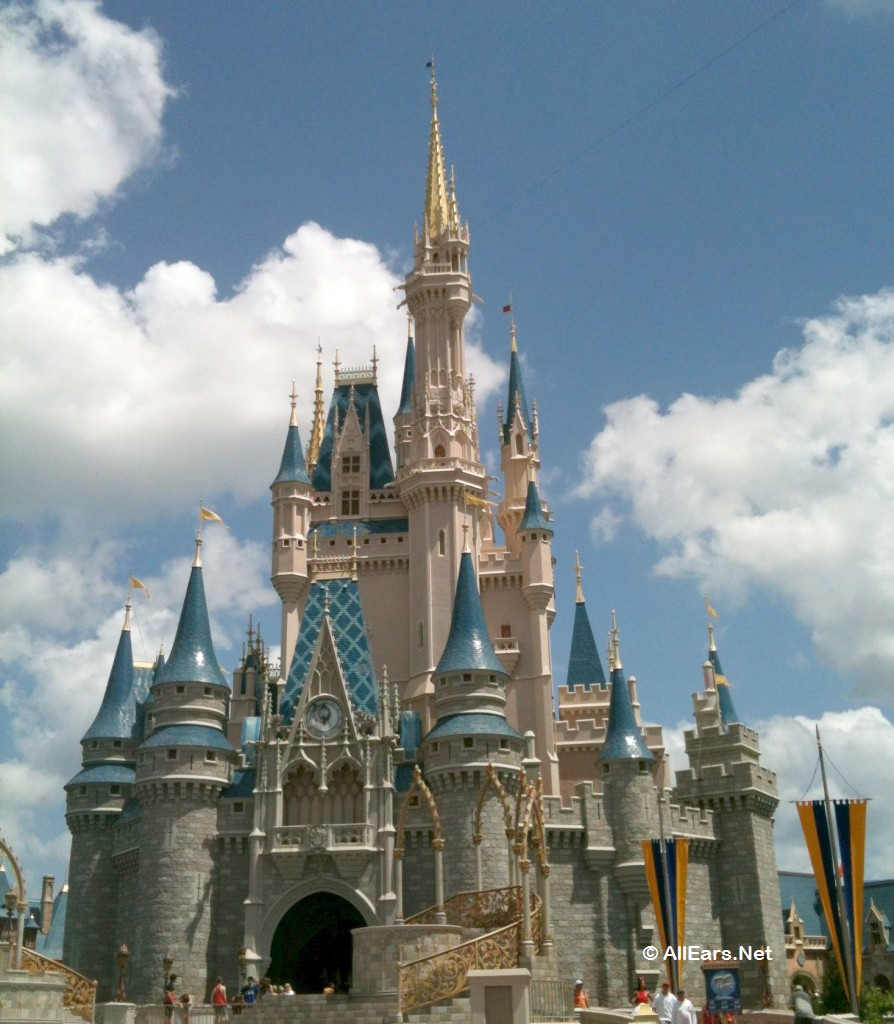 cinderella castle -- magic kingdom