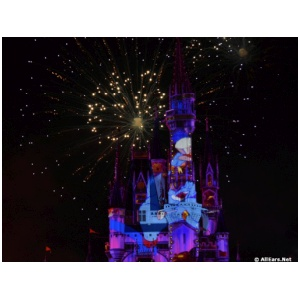 Happily Ever After Fireworks at Magic Kingdom