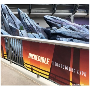 Incredibles Tomorrowland Expo