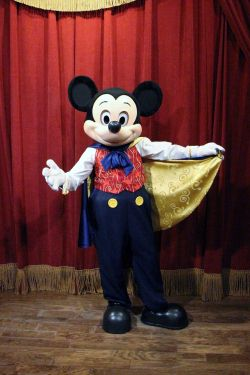 Magician Mickey Mouse at the Town Square Theater