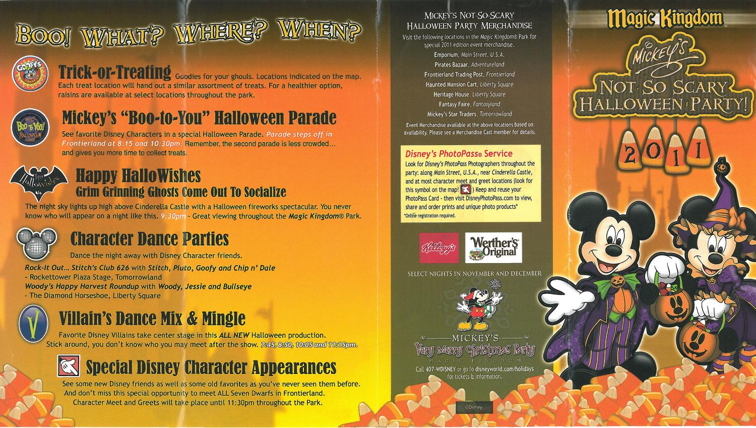 Mickey's Not So Scary Halloween Party 2011 (All Ears® Guest Blog)
