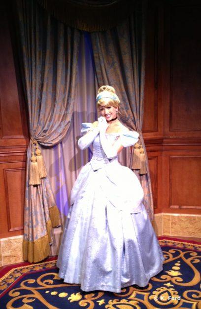 Cinderella in Princess Fairytale Hall