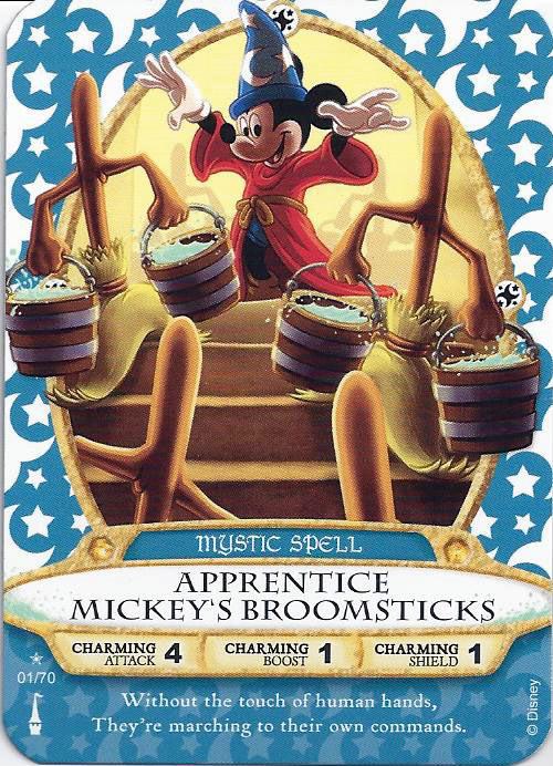 HAUNTED MANSION Halloween Card 2013 Disney SOTMK Sorcerers Magic Kingdom #03//P