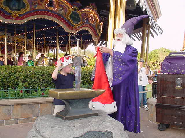 Image result for sword in the stone magic kingdom