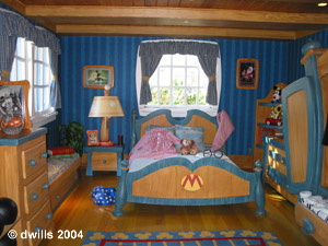 Mickey's Bedroom