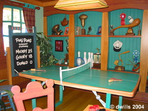 Mickey's Game room