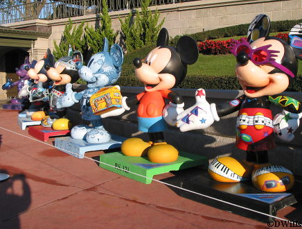 75 Years of Mickey Statues