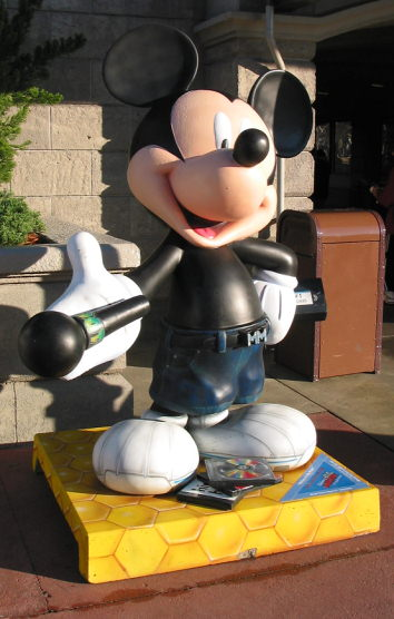 Mickey in the Park