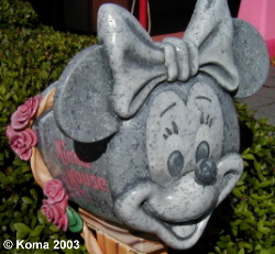 Minnie Mouse Mailbox