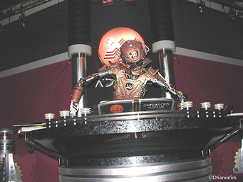 SIR Robot in Alien Encounter