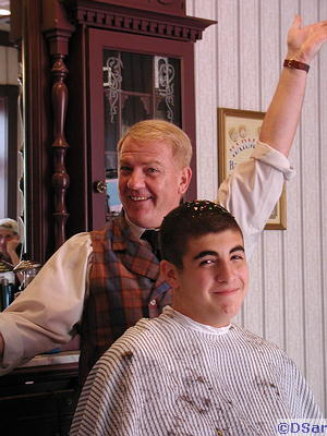 Pete's Haircut