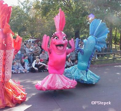 Little Mermaid Float