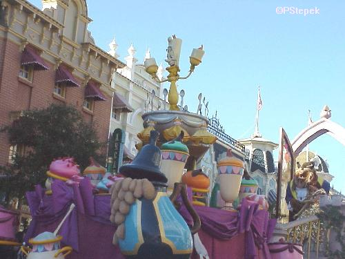 Beauty and the Beast Float