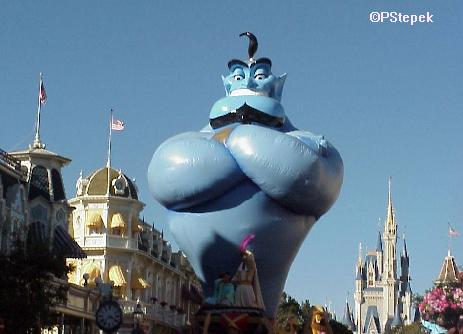 Aladdin's Float