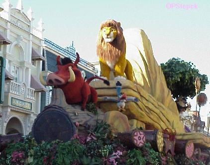 Lion King Simba Float