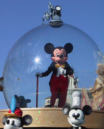 Mickey Mouse in Share a Dream Come True