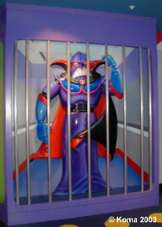 Zurg Photo Op at Buzz Lightyear