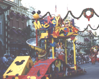 Mickey Mania  Float