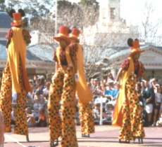 Mickey Mania '96 Stilts