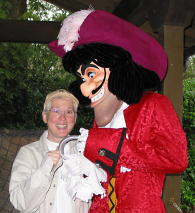 Deb with Captain Hook