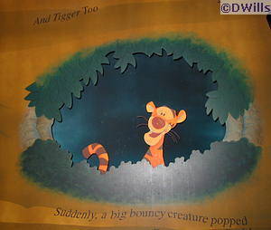 Tigger at the Many Adventures of Winnie the Pooh in Walt Disney World