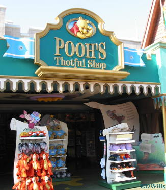 Poohs Thotful Shop Entrance