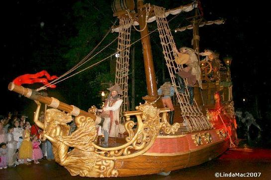 Pirate Ship during Parade