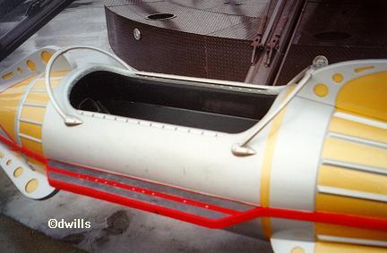 Rocket Ship Tandem Seating
