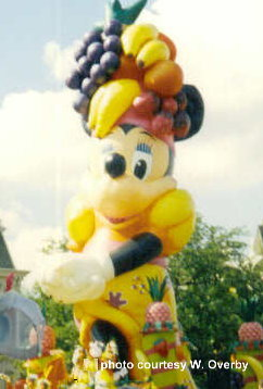 Minnie Mouse Float