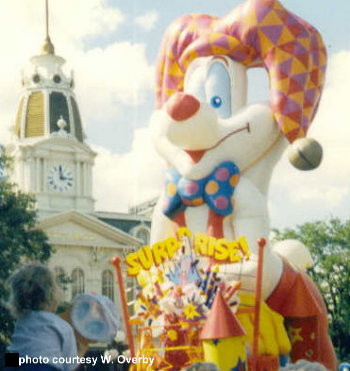 Roger Rabbit Float