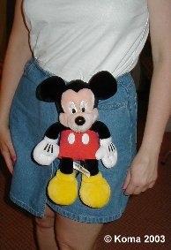 Pal Mickey Clipped On