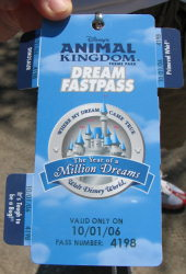 Dream FASTPASS